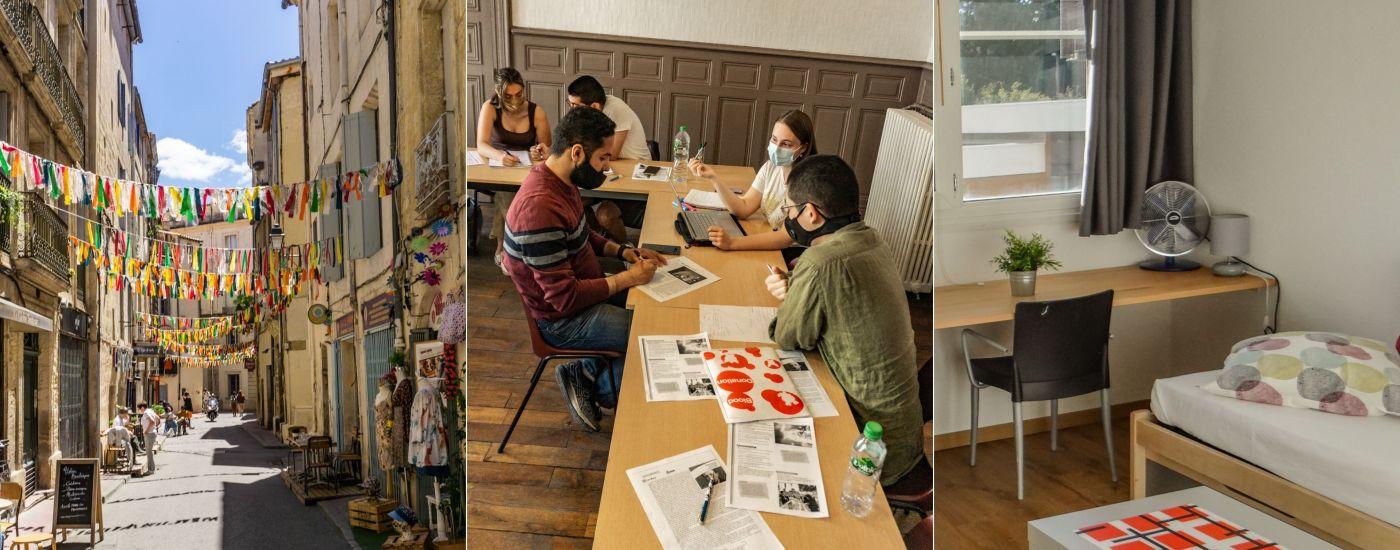faq visado cursos alojamiento Montpellier