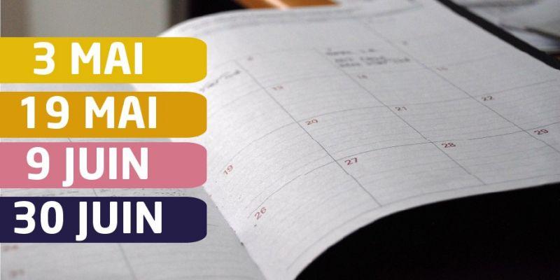 Le calendrier de déconfinement est officiel !