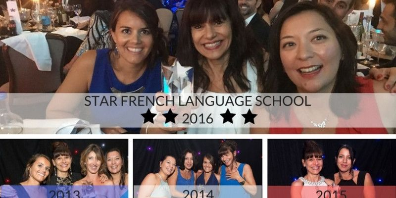 ACCENT FRANCAIS voted STAR FRENCH LANGUAGE SCHOOL for the 4th consecutive year