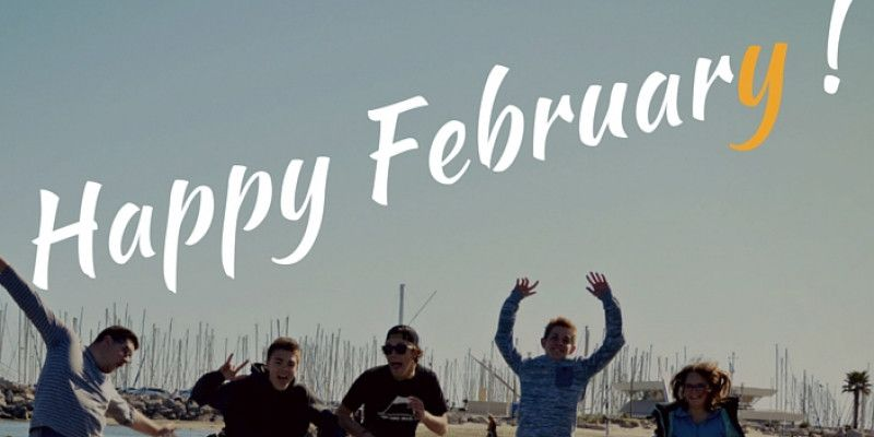 Happy February - a great promo is waiting for you!!