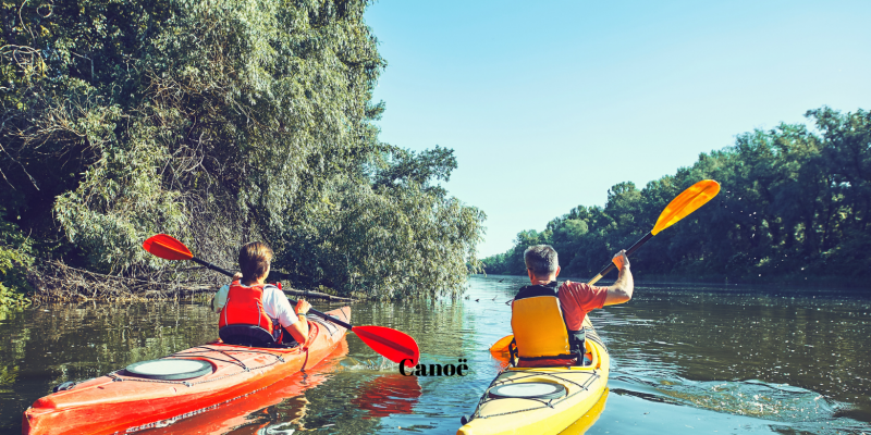 Canoeing in the gorges of the Hérault