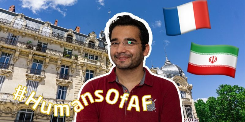 Interview of Behrad about his experience in Montpellier with us - Academic programme