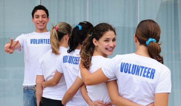 Francês e voluntariado
